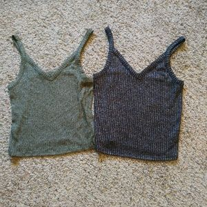American Eagle Outfitters soft crop tops
